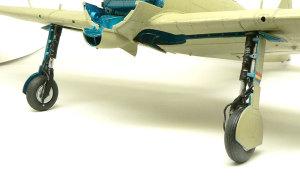 零式艦上戦闘機21型 主脚