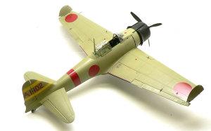 零式艦上戦闘機21型 最後の組み立て