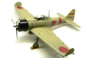 零式艦上戦闘機21型 仕上げ