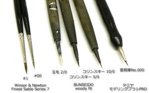愛用している筆