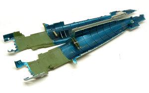 零式艦上戦闘機21型 機体内部の塗装