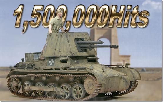 1,5000,000 Hits
