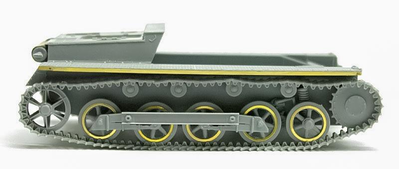 履帯の組立て 1号B型指揮戦車