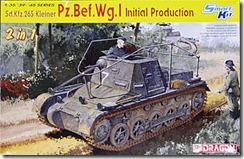 ドイツ・1号指揮戦車極初期型 1/35 ドラゴン