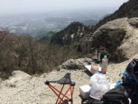 国見岳で山飯