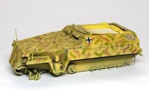 Sd.kfz.250/1ノイ デカール貼り