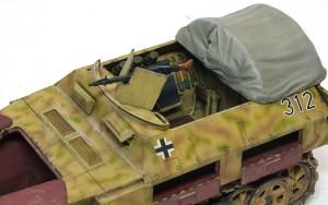 Sd.kfz.250/1ノイ 幌と機関銃