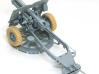 組立て完了 25ポンド砲Mk.2