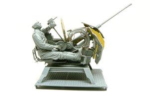 2cm対空機関砲Flak38砲兵 1/35 ドラゴン