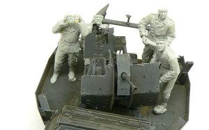 2cm対空機関砲Flak38砲兵 配置の確認