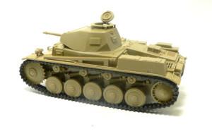2号戦車F型 組み立て完了
