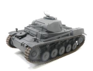 2号戦車F型をジャーマングレーで塗装