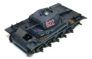 2号戦車B型 フィルタリングとドライブラシ