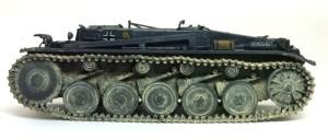 2号戦車B型 足まわりの組立て