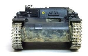 2号戦車B型 履帯の連結ピンは内側