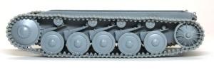 2号戦車B型 履帯の組立て