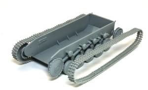 2号戦車B型 履帯はベルト式に組みました