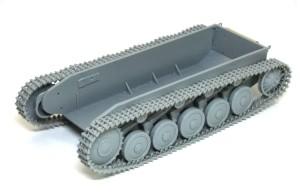 2号戦車B型 履帯ははめたまま1週間放置
