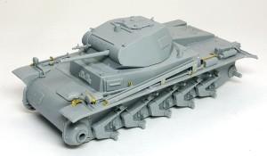 2号戦車B型 砲塔の組立て