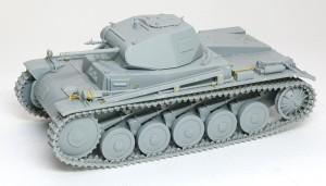 2号戦車B型 組立て完了