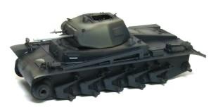 2号戦車B型 暗色を塗装