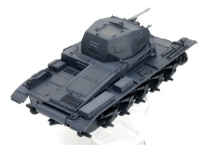 2号戦車B型 明色の塗装