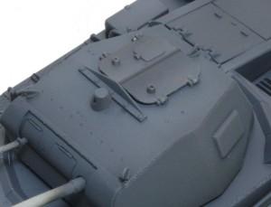 2号戦車B型 ハッチが曲がったように見える・・・