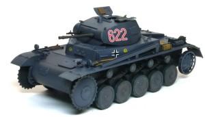 2号戦車B型 細部の塗分け