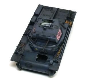 2号戦車B型 スミ入れ