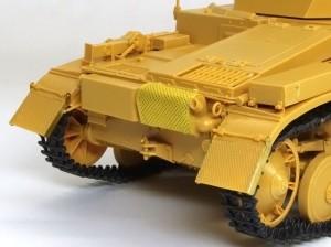 2号戦車F型 最小限のエッチングパーツ