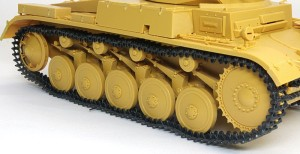 2号戦車F型 組立て可動式履帯