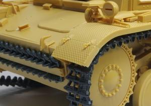 2号戦車F型 フェンダーの留め具