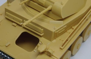 2号戦車F型 溶接痕の追加