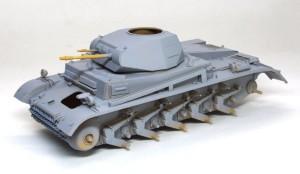 2号戦車F型 サフ吹き