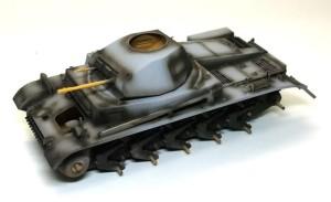 2号戦車F型 影吹き