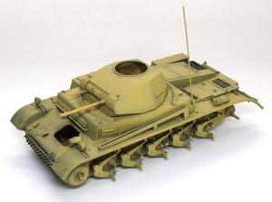 2号戦車F型 基本塗装