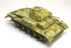 2号戦車F型 迷彩塗装
