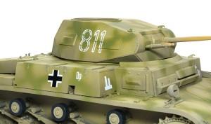 2号戦車F型 デカール貼り