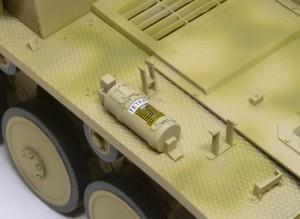 2号戦車F型 消火器のデカール