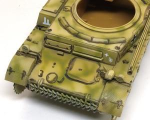2号戦車F型 スミ入れ
