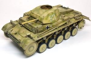 2号戦車F型 ウオッシング