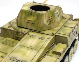 2号戦車F型 ランダムに線を入れる
