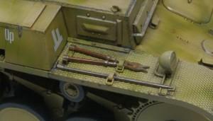2号戦車F型 OVMの塗分け