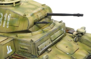 2号戦車F型 主砲と機関銃