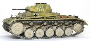 2号戦車F型 履帯の取り付け