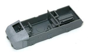 10.5cm榴弾自走砲39H(F) インテリアの組立て