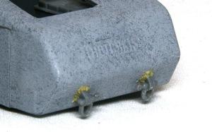 10.5cm榴弾自走砲39H(F) 鋳造肌の追加