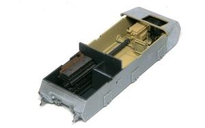 10.5cm榴弾自走砲39H(F) インテリアの塗装