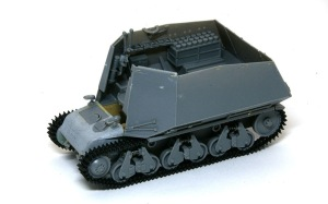 10.5cm榴弾自走砲39H(F) 戦闘室の組立て
