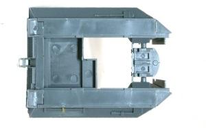 10.5cm榴弾自走砲39H(F) 戦闘室